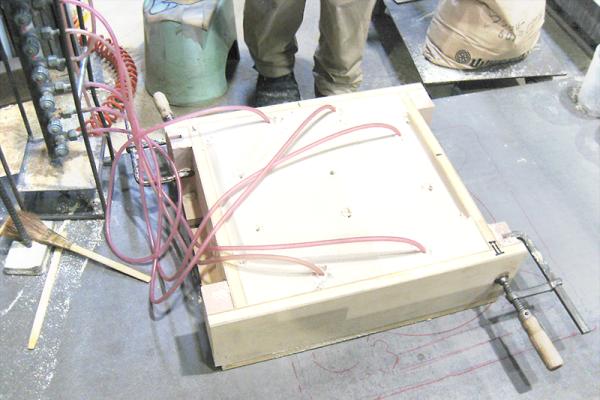 砂型鋳造の流れ 鋳型作成